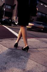 ヒールの高さが違う靴を交互に履く