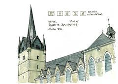 Herve, église