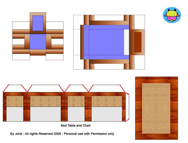 printable dollhouse furniture plans | Woodworking Magazine Online