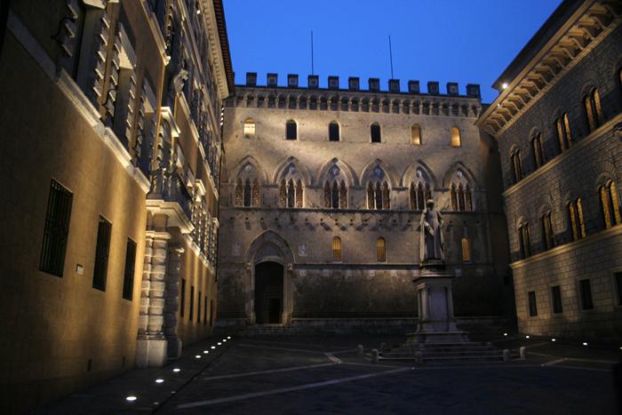 Una Piazza de Siena