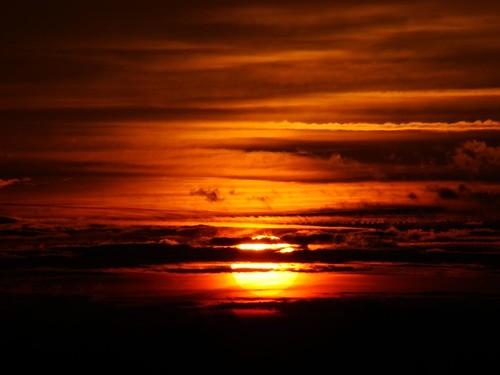 red orange yellow sunrise pretty maryland frederick