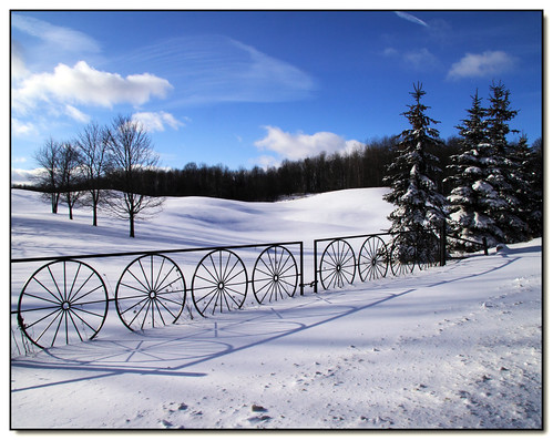 blue trees winter sky white snow ontario canada clouds rural canon fence landscape lisas explore soe allrightsreserved invited caledon 50d 897 canon50d platinumphoto anawesomeshot theunforgettablepictures vosplusbellesphotos getty2009 copyrightlisastokes getty20090324