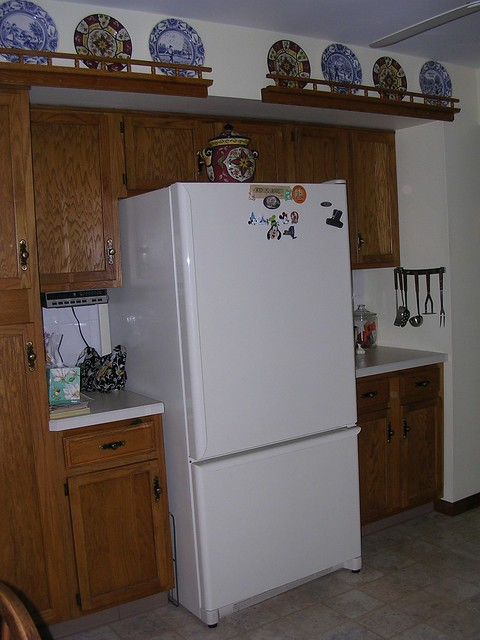 Refrigerator Sticking Out Past Cabinets Gbcn