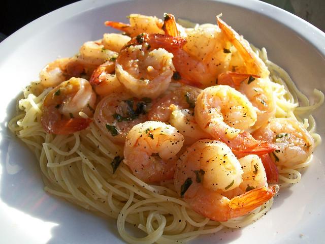 how to cook shrimp pasta