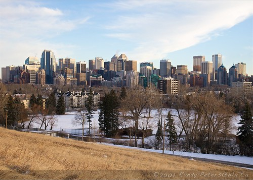 Calgary Skyline from ACAD