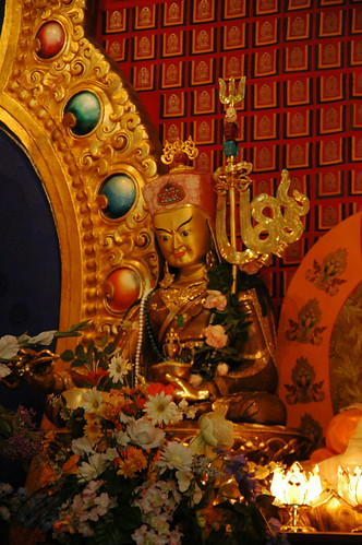 Statue of Guru Rinpoche, Padmasambhava, Seattle, Washington, USA by Wonderlane