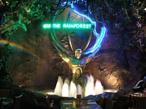 About Rainforest Cafe