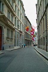 日内瓦(Geneve) 的街道