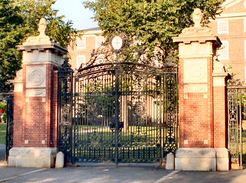 Van Wickle Gates, Brown University