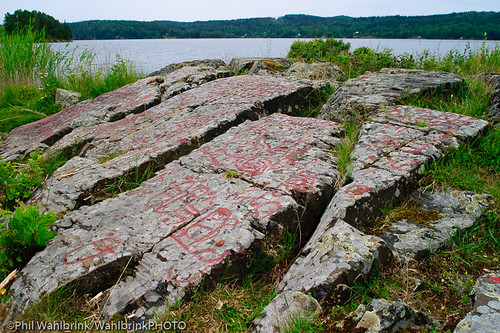 Tisselskog rock carvings sweden