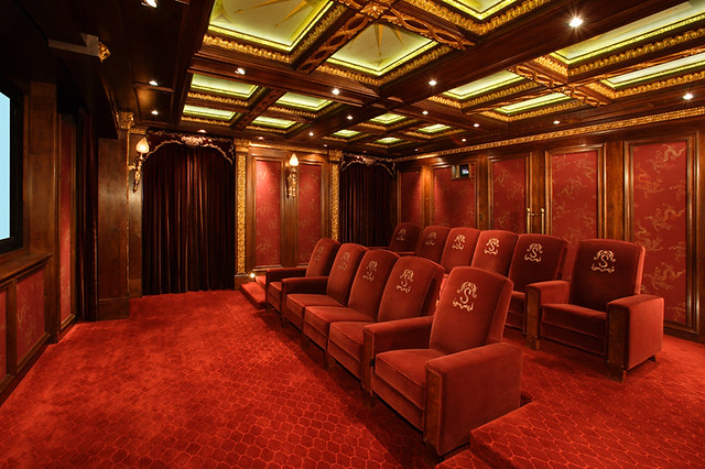 Custom Home Theater Seating Flickr Photo Sharing