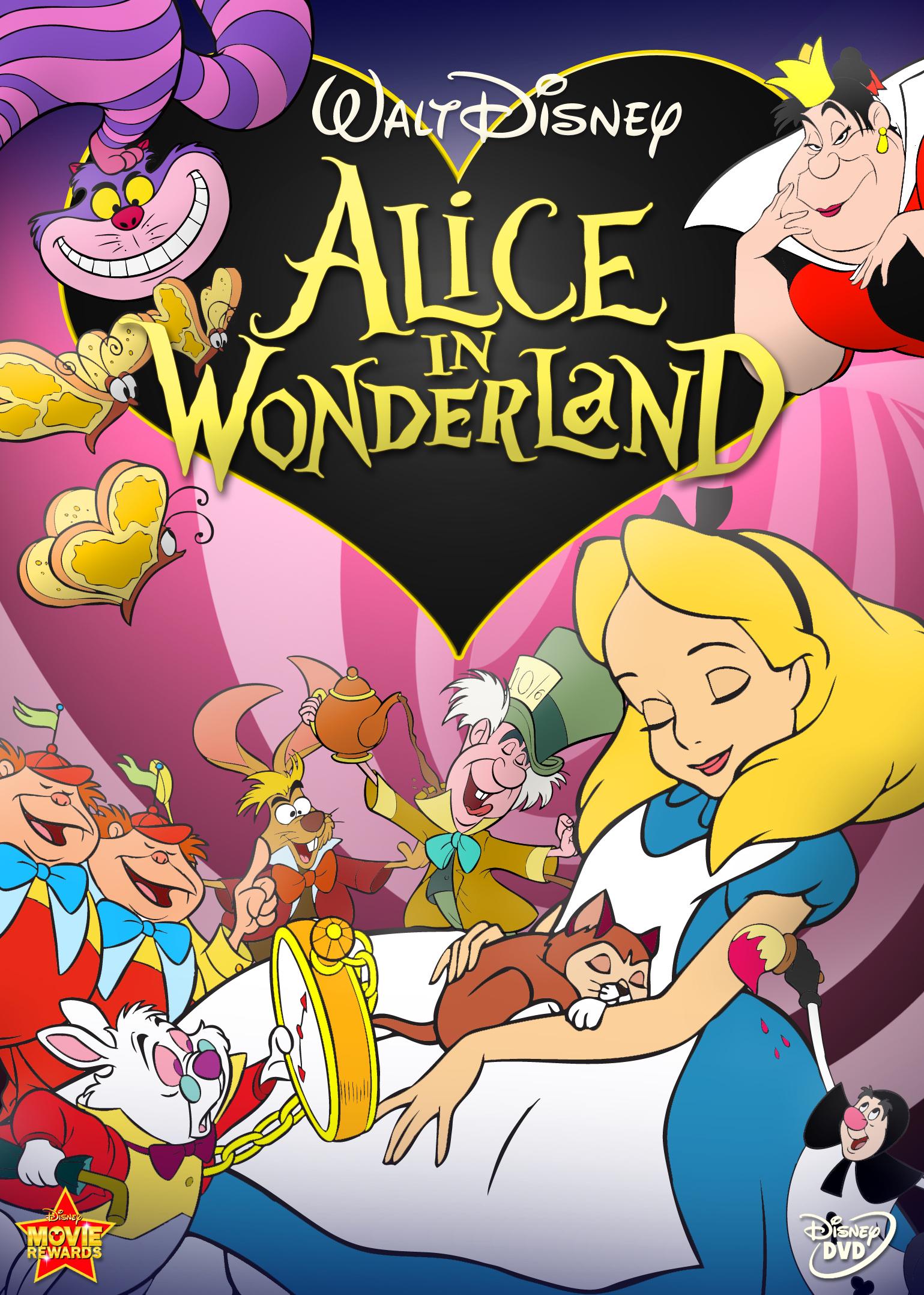 Alice in Wonderland DVD new disney 2010   Explore Hause Of ...