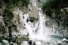 Bash Bish Falls in Winter