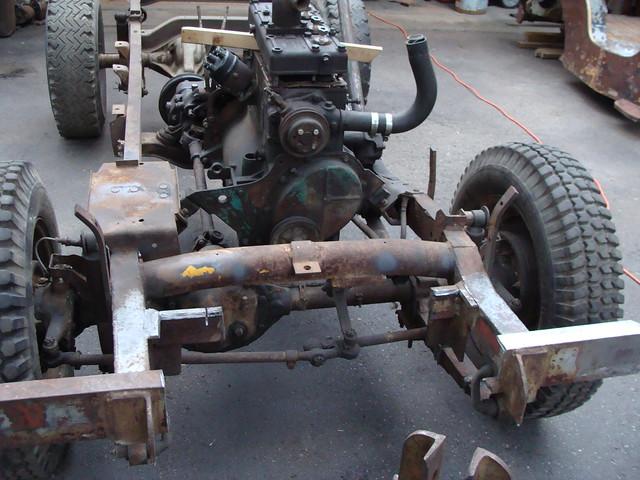 1947 Willys Jeep CJ2A (restoration progress)