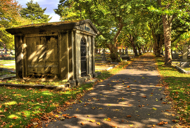 Ross Bay Cemetery HDR