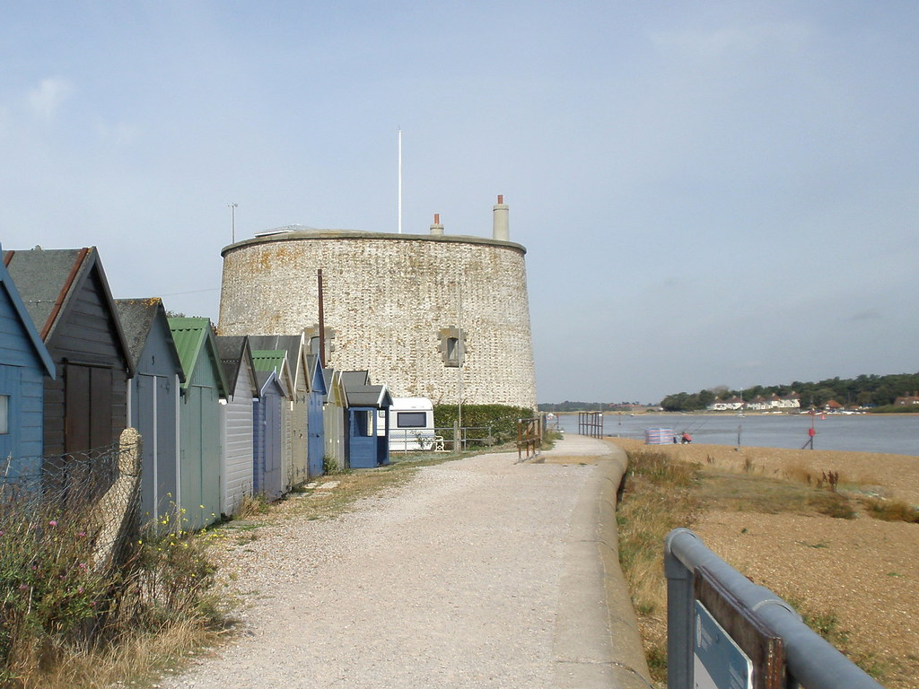 Martello Tower. Felixstowe Ferry.