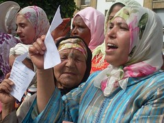 Morocco Women of Collective Lands Sit-in (July, 2009)