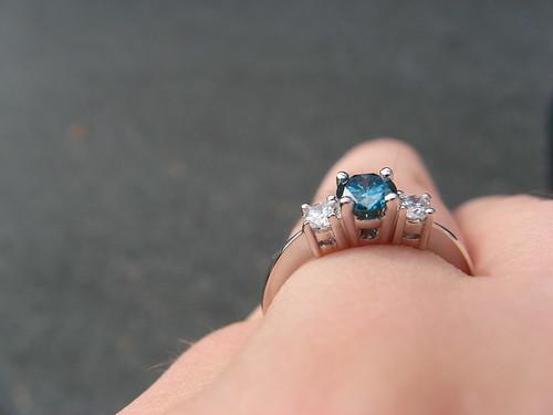 My Diamond Engagement Ring Close-up
