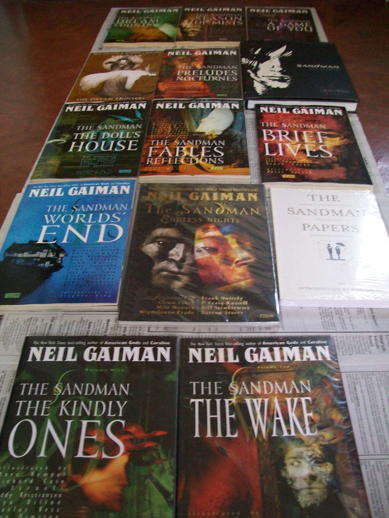 My Sandman Library