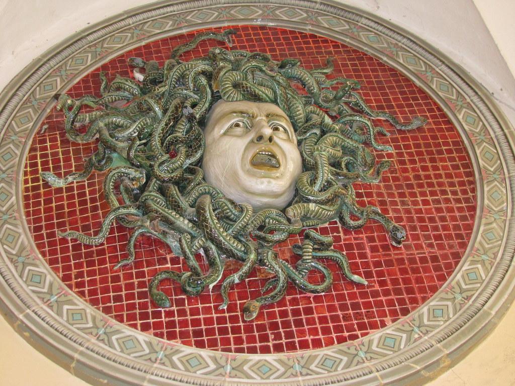 Medusa - Pesaro Musei Civici - aprile 2010
