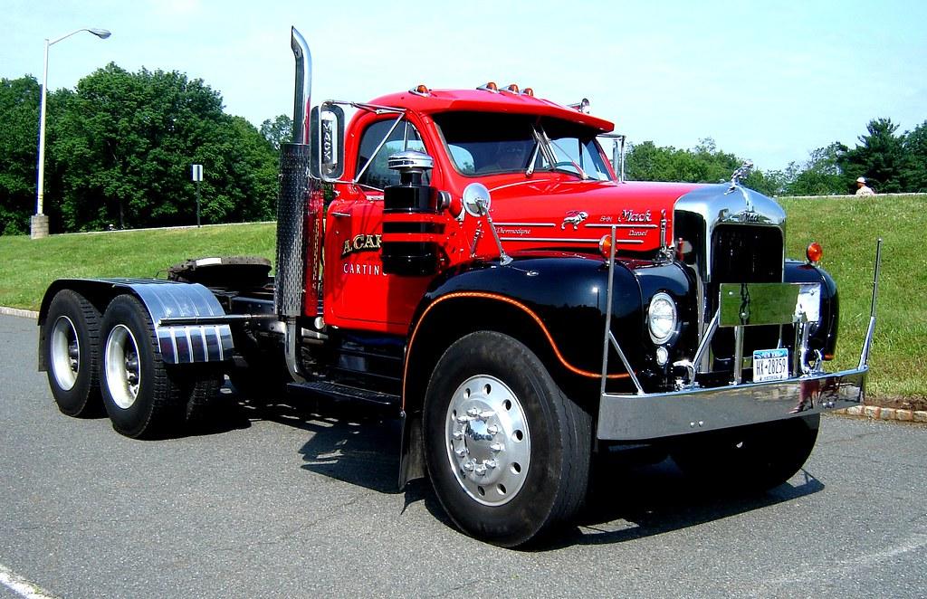 B 61 Mack Trucks : Classic mack b flickr photo sharing