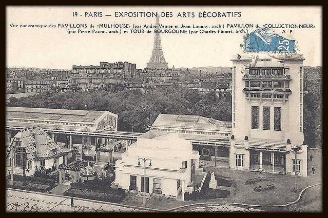 Exposition Arts Decoratifs Paris  Pavillon Du Collectionneur