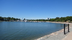 sea, property, lake, body of water, dock, shore, coast, panorama,