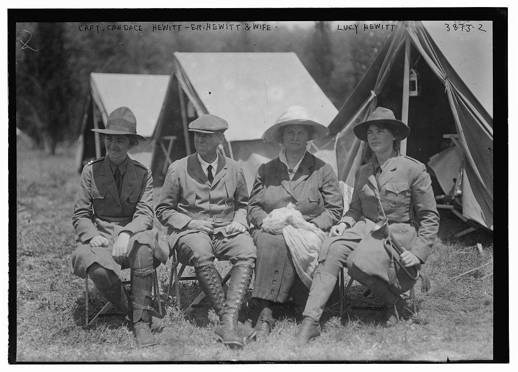 Capt. Candace Hewitt, E.R. Hewitt & wife, Lucy Hewitt (LOC)