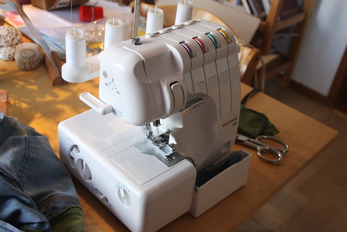 my new serger.