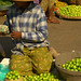 Tiny Apples for Sale at Market, Mandalay, Burma
