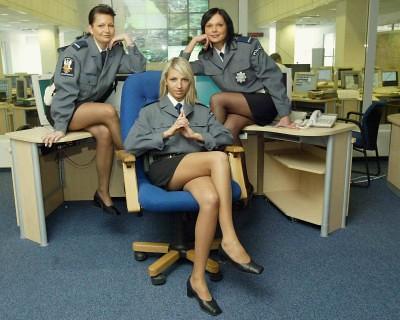 Police Woman Pantyhos 63
