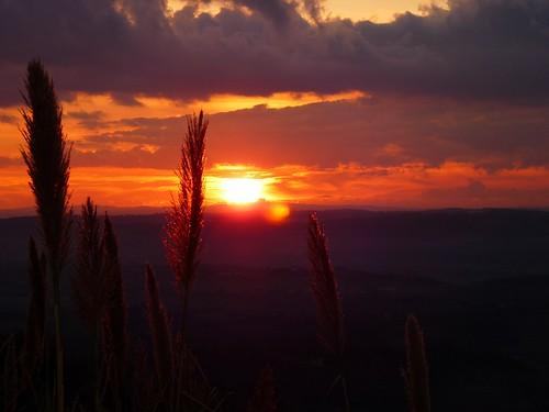 sunset sky sun silhouette clouds tramonto nuvole cielo solo controluce naturaincontaminata