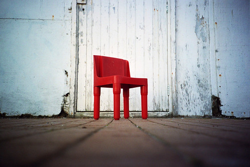 little red chair