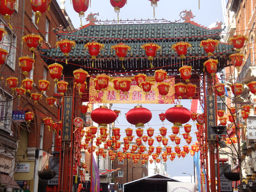 Chinese new year, London Chinatown