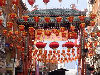 Chinese new year, London Chinatown