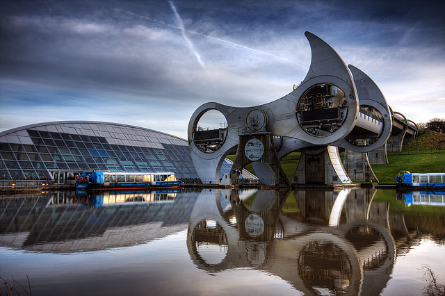 Falkirk Wheel HDR 14a