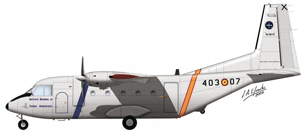 CASA C-212 INTA