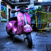 Pink Vespa by Heaven Ideas