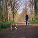 Richard and Skitters in Friston Forest