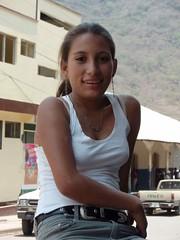 Joven bonita - pretty girl; Jinotega, Nicaragua