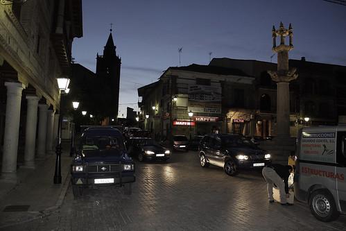 Almorox  Plaza de La Constitución.(Toledo-España)