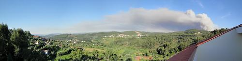 Panorama - Incêndio em Castelo de Paiva