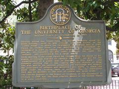 Birthplace of the University of Georgia