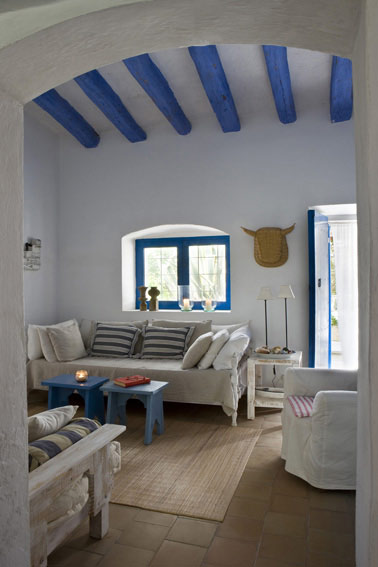 Decoraci n marinera for Casa moderna mediterranea