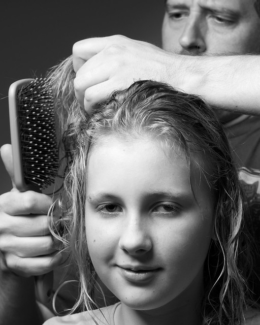 how to stop static hair when brushing