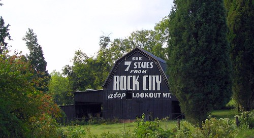 Blount County Rock City Barn A