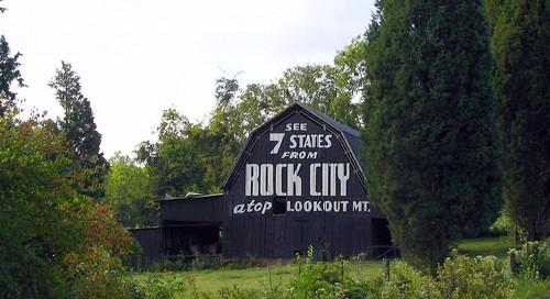 Blount County Rock City Barn A
