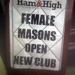 Female Masons Open New Club