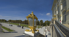 Schloss Nymphenburg - Blick in den Schlosspark - Bavaria today -