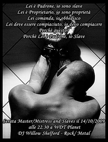 Master mistress slave